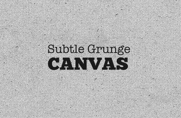 Subtle Grunge Canvas Backgrounds