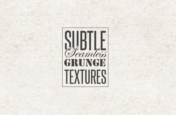 Subtle Seamless Grunge Textures Vol 2