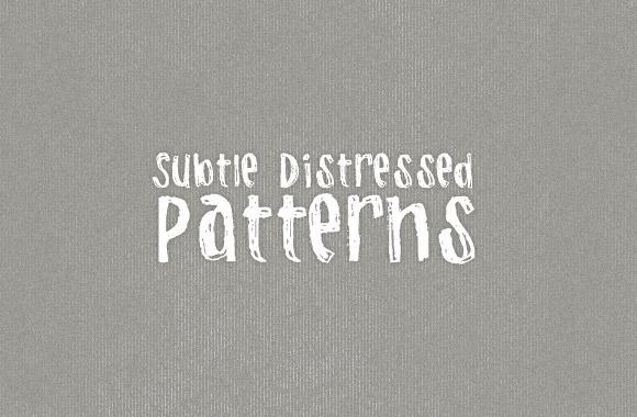 Subtle Distress Photoshop Patterns