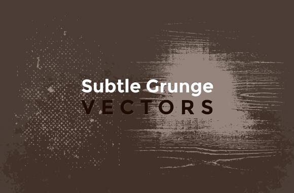 Subtle Grunge Vectors