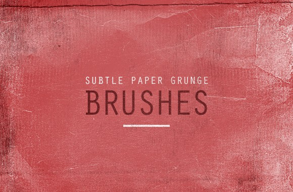 Subtle Paper Grunge Brushes