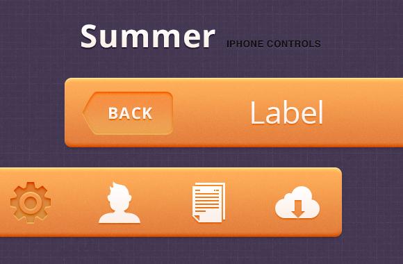 Summer iPhone Controls