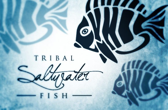 Tribal Saltwater Fish Vectors