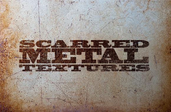 Scarred Metal Textures Pack
