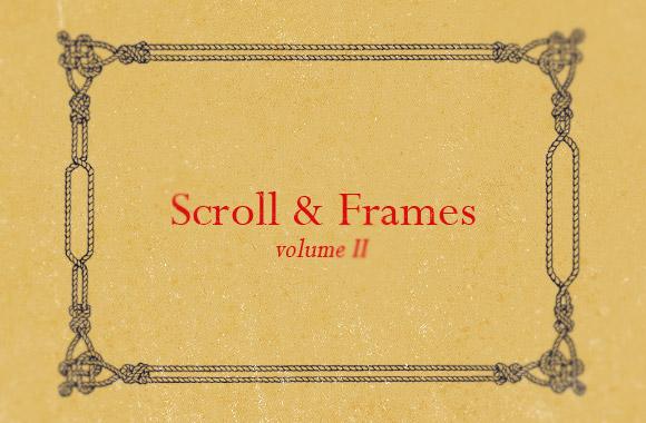 Ornate Scroll and Frames Vol2