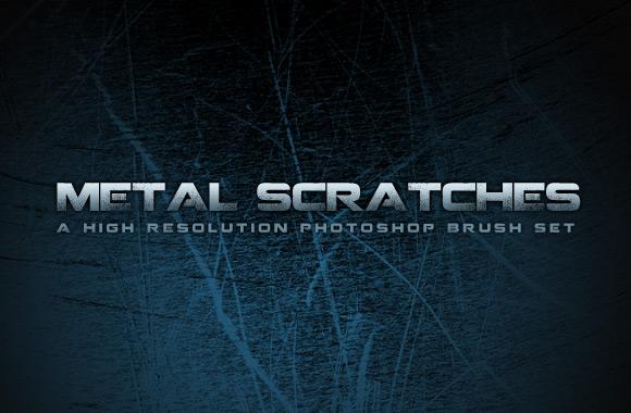 Metal Scratches Brush Set