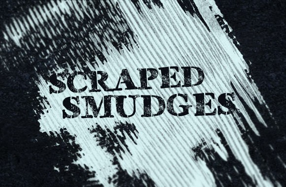 Scraped Smudges Brush Set