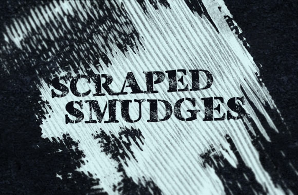Scraped Smudges Brush Set
