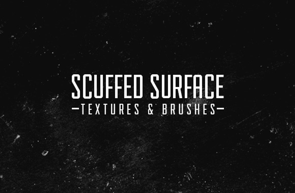 Scuffed Surface Textures and Brushes