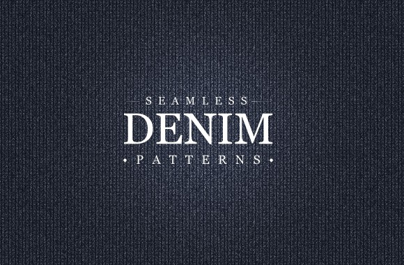 Seamless Denim Pattern Collection