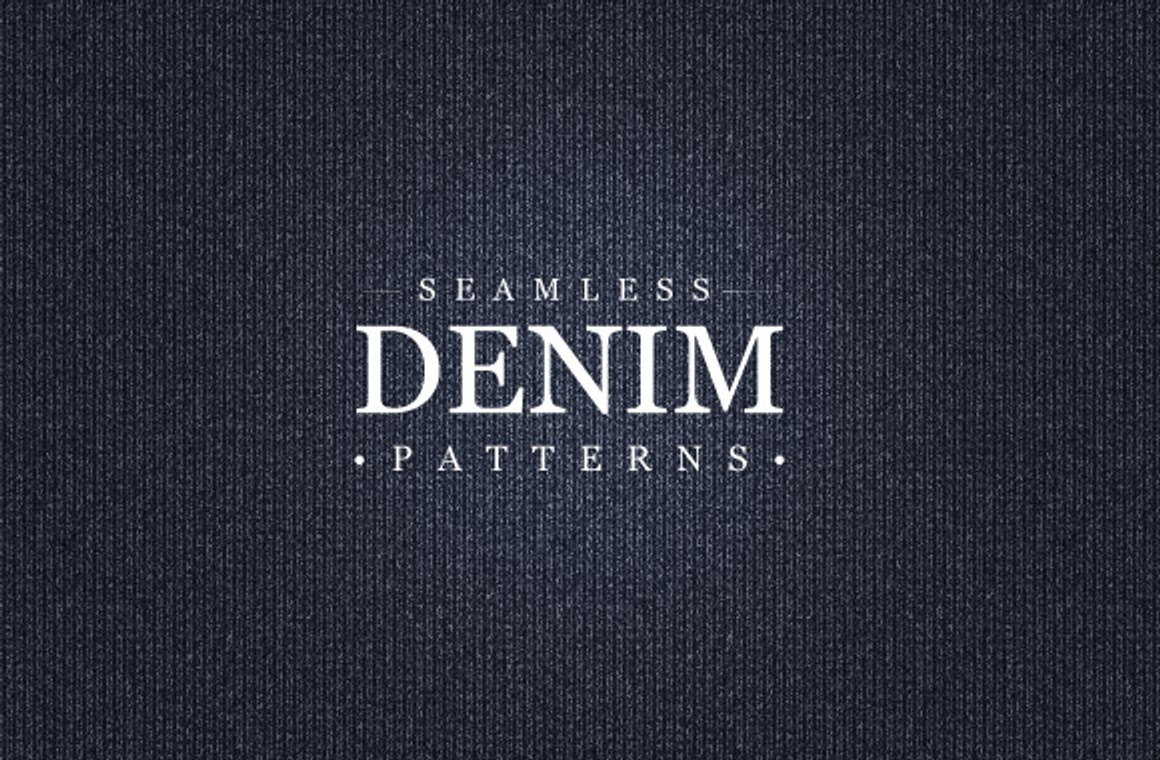 Seamless Denim Pattern Collection