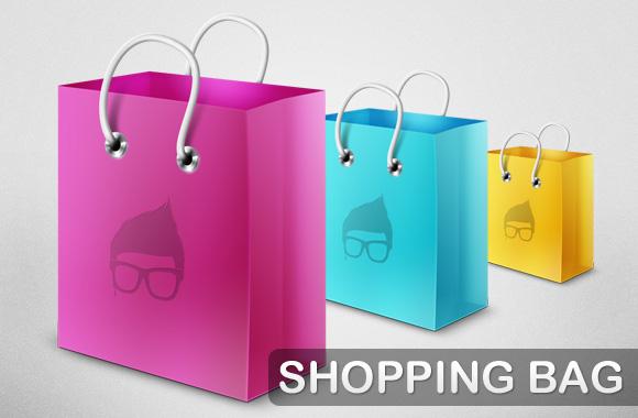 Shopping Bag Template