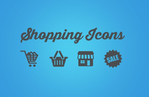 Vector Shopping Icons Pack