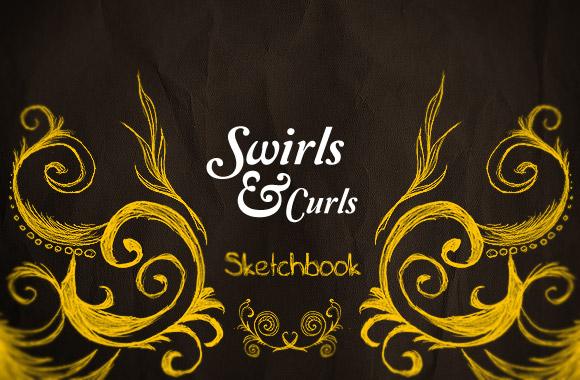 Sketchbook Swirls and Curls