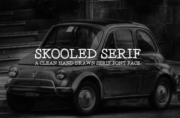 Skooled Serif