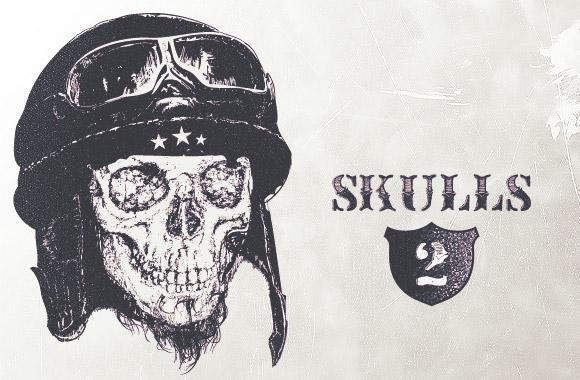 Highly detailed skulls vol2