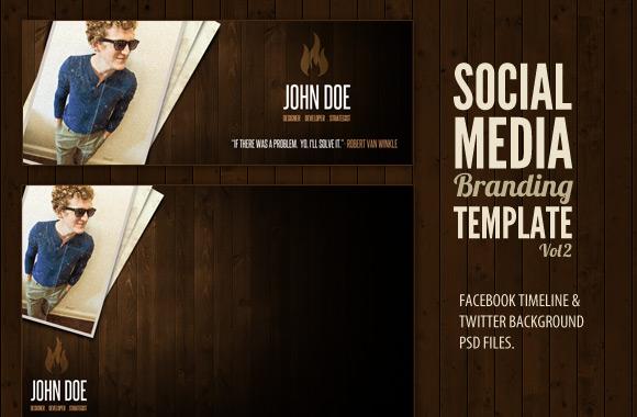 Free Social Media Branding Kit Vol 2