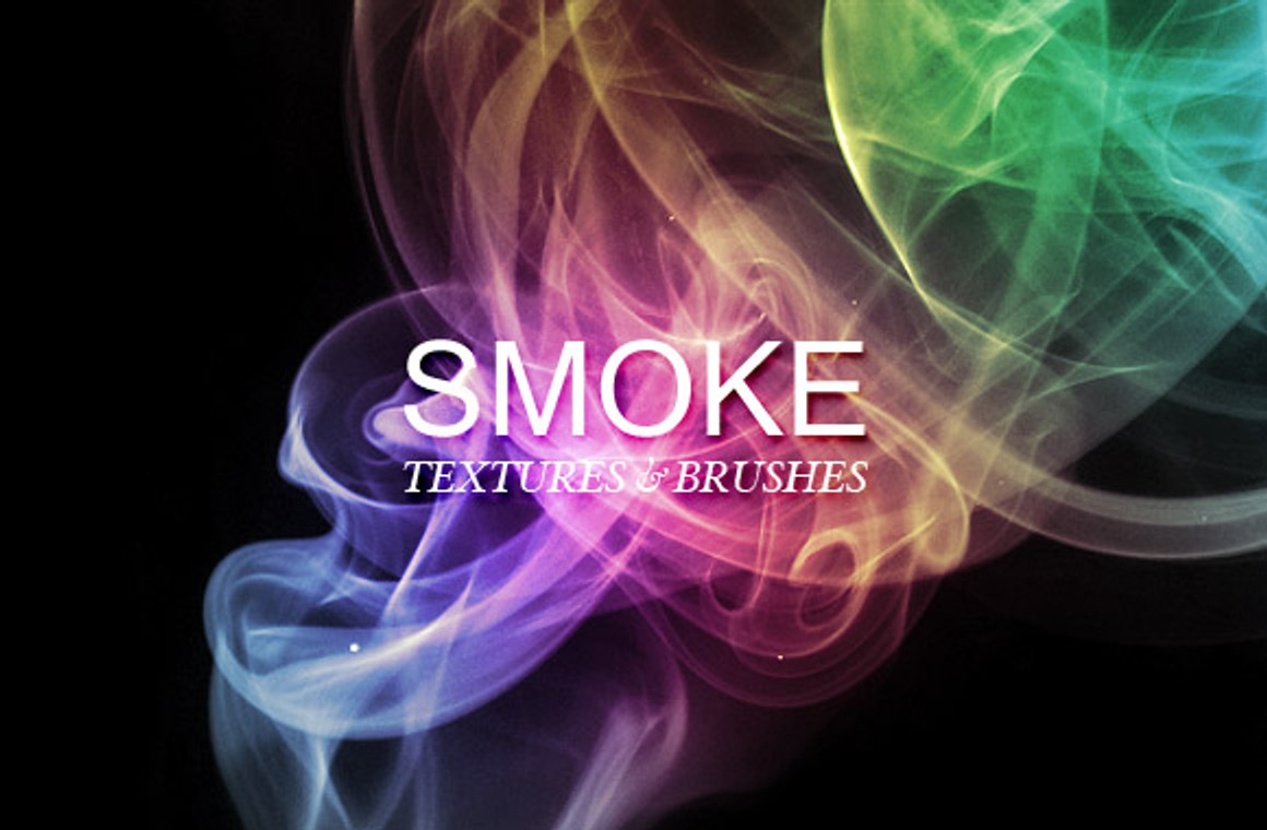 Smoke textures and brushes Vol1
