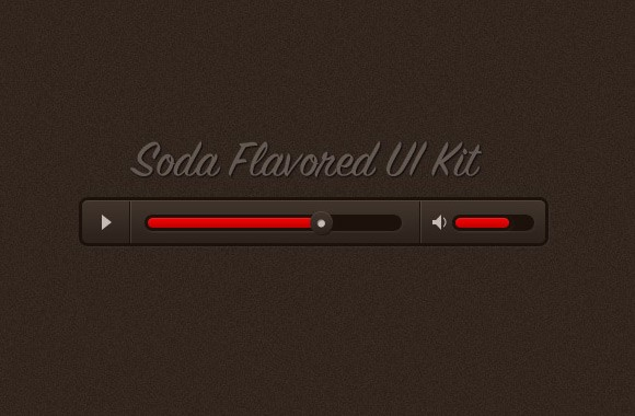 Soda Flavored UI Kit