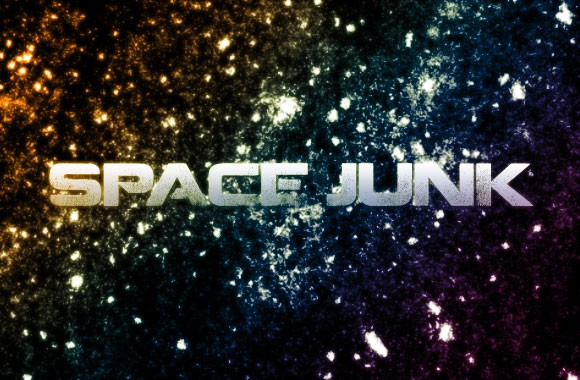 Space Junk Photoshop Brushes