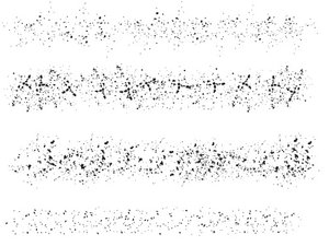 Vector Random Speckle Brushes 2