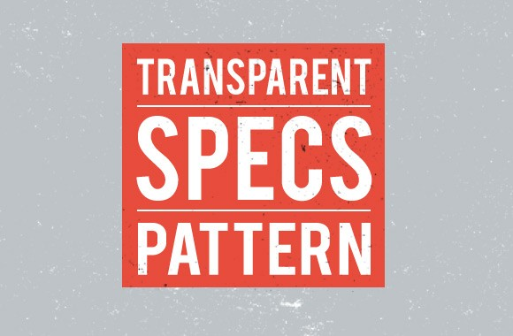 Transparent Specs - Seamless Patterns