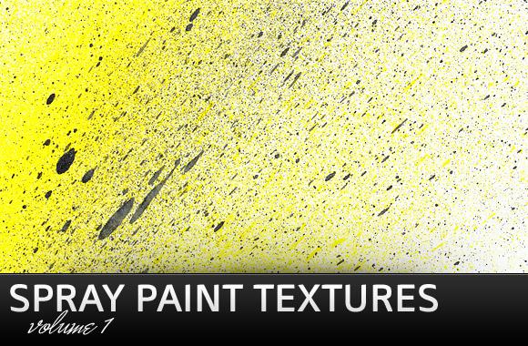 Spray Paint Textures Vol1