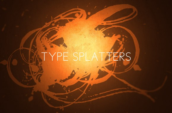 Type Splatters