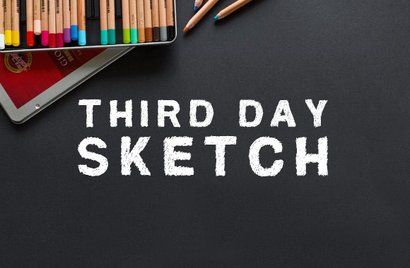 Third Day Sketch - Font Face