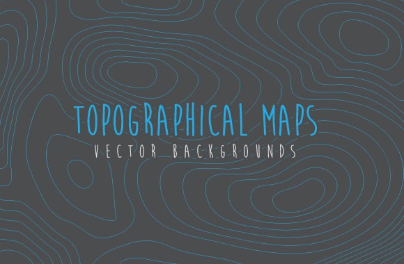 Topographical Map Vectors