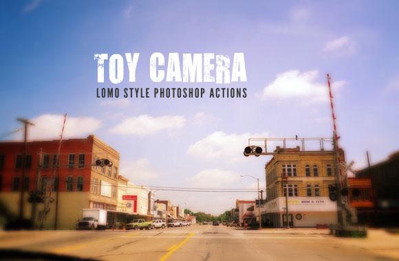 Toy Camera - Lomo Style Photoshop Actions