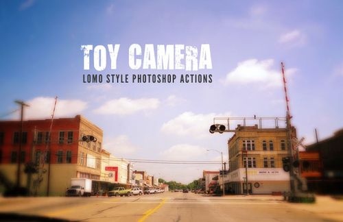 Toy Camera - Lomo Style Photoshop Actions