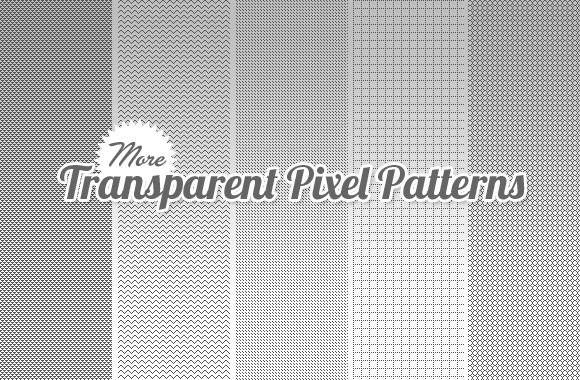 Transparent Pixel Patterns