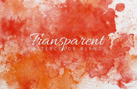 Transparent Watercolor Blends