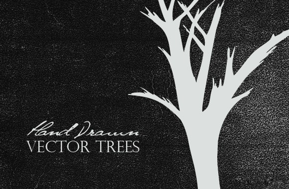 Free Hand Drawn Vector Trees