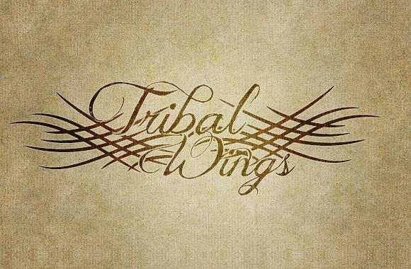 Tribal Wings Vector Pack