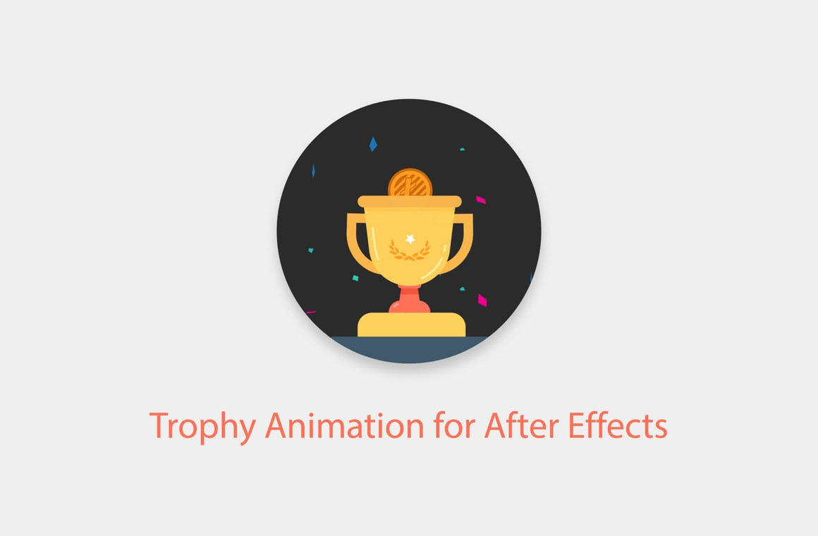 Trophy Animation for After Effects