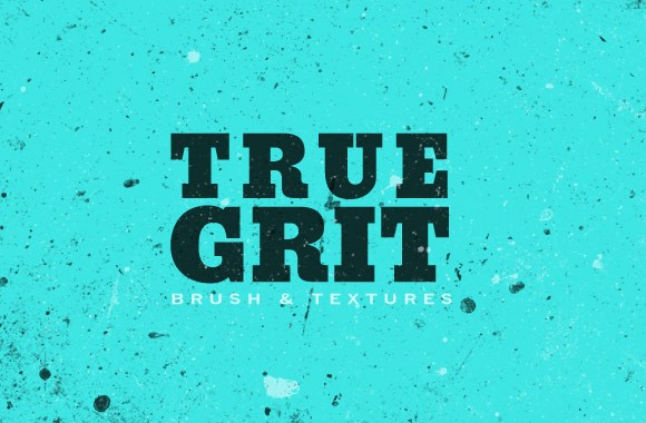 True Grit PS Brushes and Texture Pack