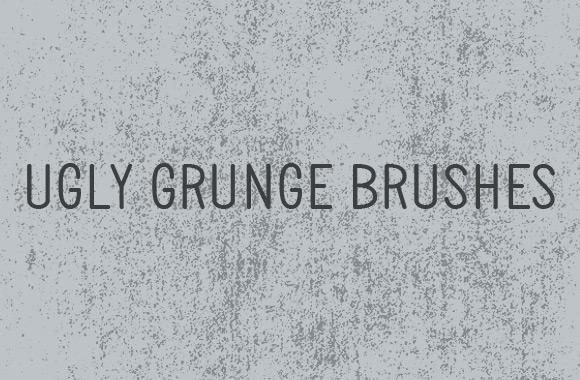 Ugly Grunge Photoshop Brush Set