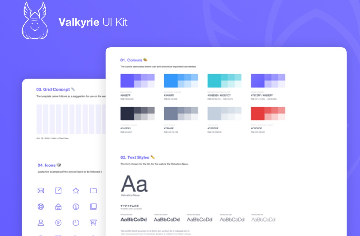 Valkyrie UI Kit
