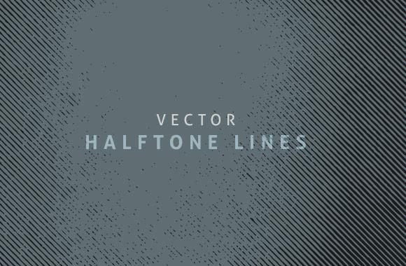 Halftone Vector Lines 2