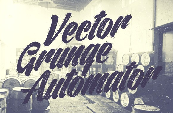 Vector Grunge Automator