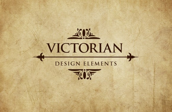 Victorian Era Vector Design Elements Vol 2