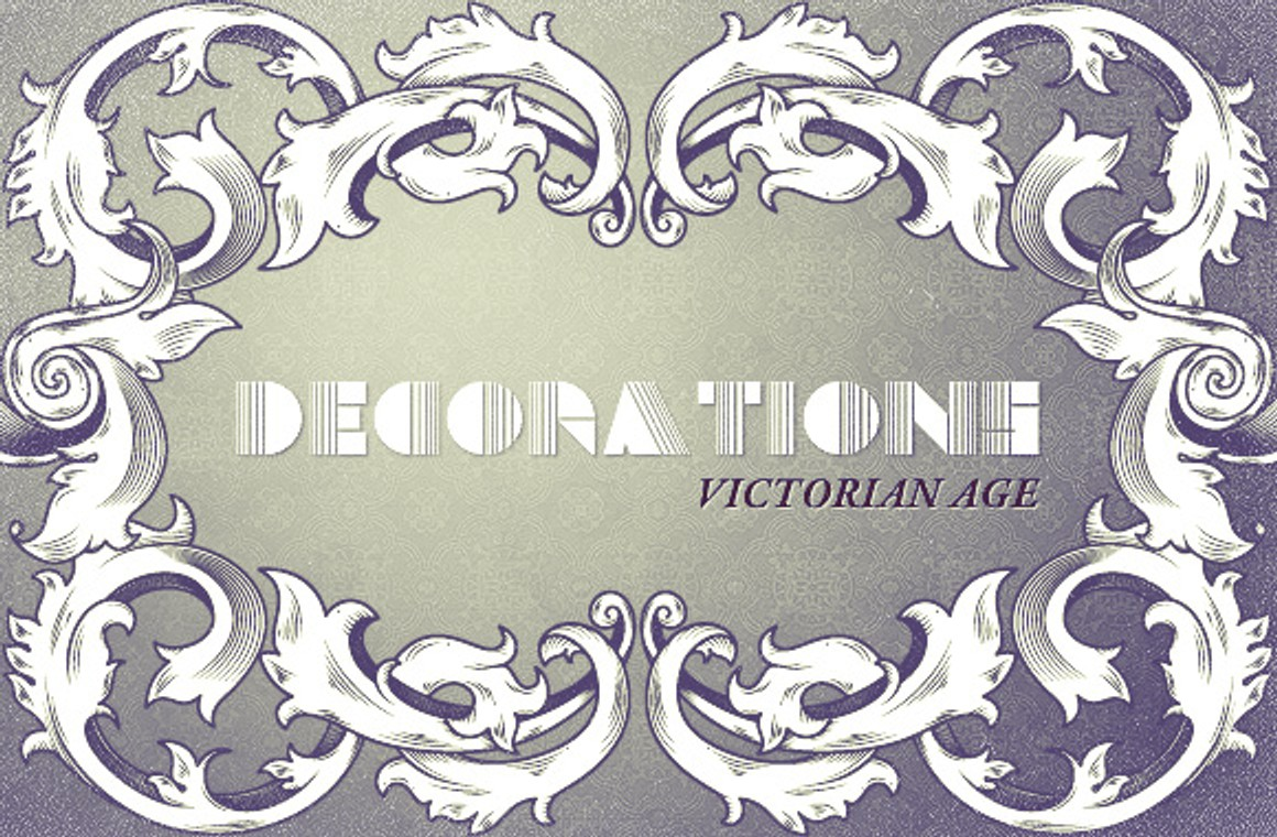 Victorian age decorations