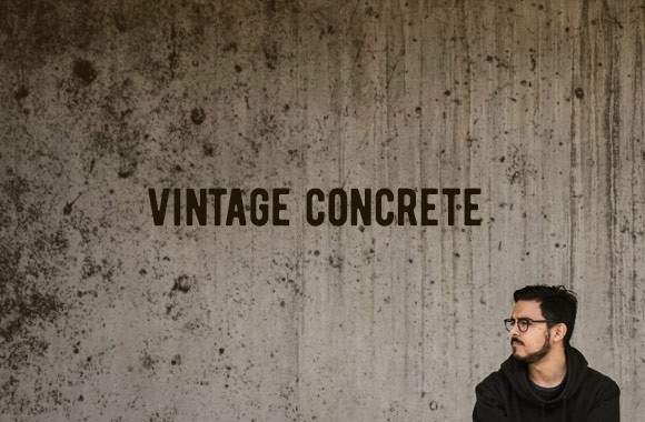 Vintage Concrete Textures and Brushes