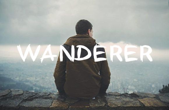Wanderer - Font Face