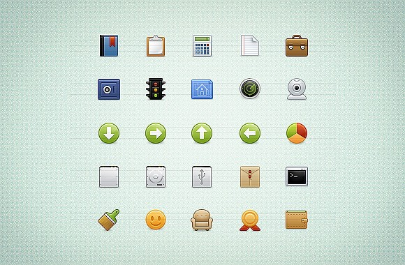 Wapp, an icon set for web apps volume2