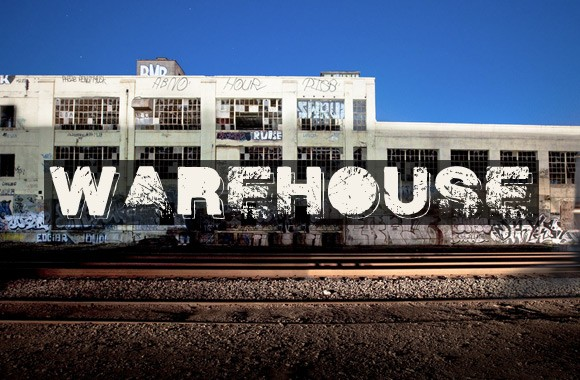 Warehouse - A Filthy Grunge Font