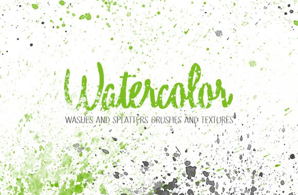Washes and Splatters Watercolor Kit