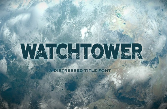 Watchtower - A Free Title Font